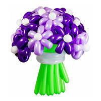 Букет из воздушных шариков, цветы из воздушных шариков. В букете 23  цветочка