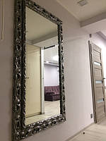 Зеркало в деревянной раме пр. Италия (арт. Р18-grafit)