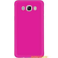 Накладка Silicon Case для Samsung J510 (J5-2016) Pink