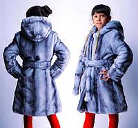 Шуба меховая для девочки, от 34 до 42 размера