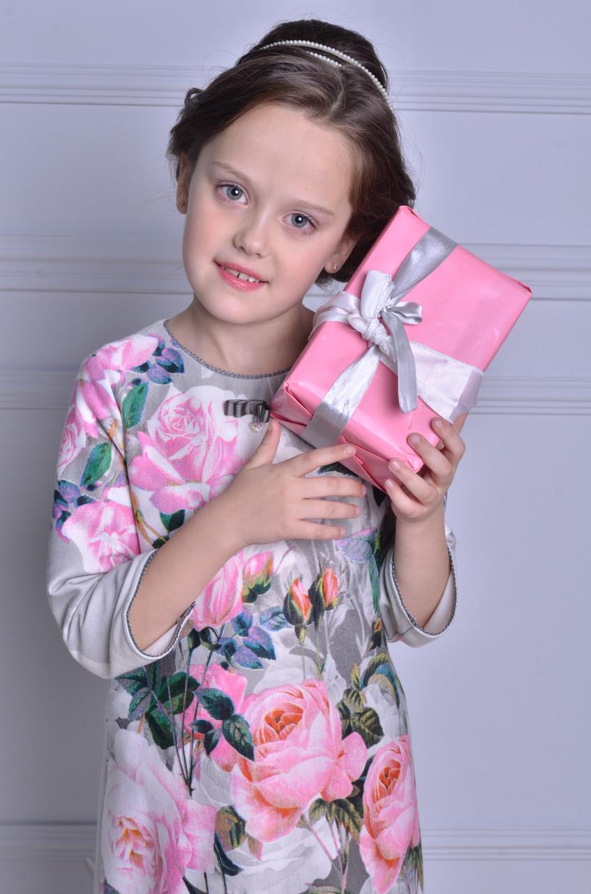 Нарядное платье для маленькой цветочной феи