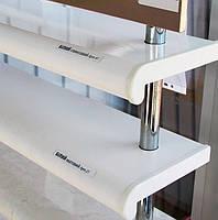 Подоконник Plastolit цвет белый глянец 400 мм