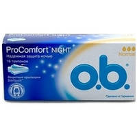 Тампоны o.b. ProComfort Night Normal 16 шт.