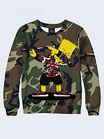 Свитшот Bart camouflage