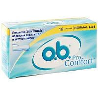 Тампоны о.b. ProComfort Normal 16 шт.
