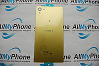 Задняя панель корпуса для мобильного телефона Sony E5803 Xperia Z5 Compact / E5823 Xperia Z5 Compact Gold