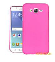 Накладка Silicon Case для Samsung J700 (J7) Pink