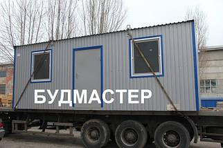 Переоборудование контейнера под офис, фото 3