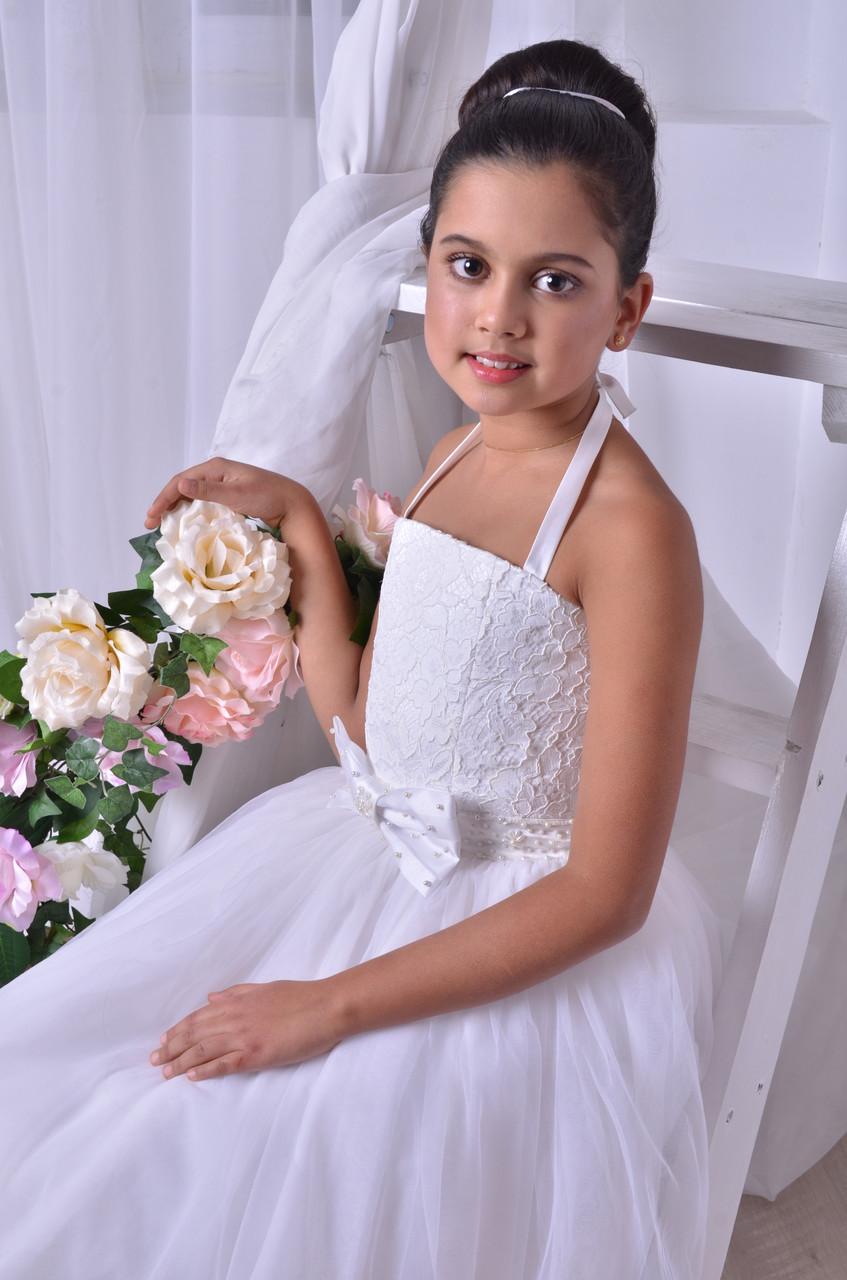 Нарядное платье для маленькой невесты