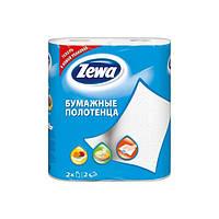 Кухонные полотенца Zewa 2 слоя, 2 рулона 15м/60 листов (25х23см)