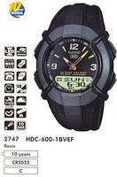 Оригинальные наручные часы Casio HDC-600-1BVEF