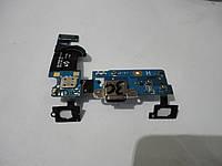 Шлейф с разъемом питания  б.у. оригинал для samsung s5 mini  g800h