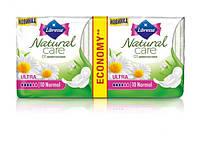 Прокладки гигиенические Libresse Natural Care Ultra Normal 20 шт. 4 капли