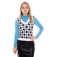 Женская стильная жилетка  в ассортименте , фото 1