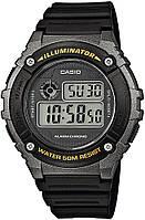 Оригинальные наручные часы Casio W-216H-1BVEF