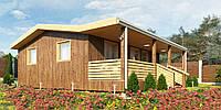 Каркасный дом Модерн-1, фото 1