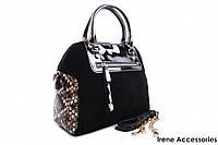 Элегантная женская сумка Bonilarti Oalenzi цвет черный