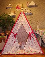 """Детский игровой домик, вигвам, палатка, шатер, шалаш """"Балерины"""""""