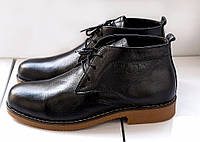 Мужские классические ботинки Zara темно-коричневые
