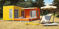 Каркасный дом Модерн-5
