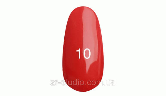 Гель лак Kodi professional 7мл. №10 (Морковно - красный)