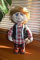 Кукла текстильная Домовенок ручной работы