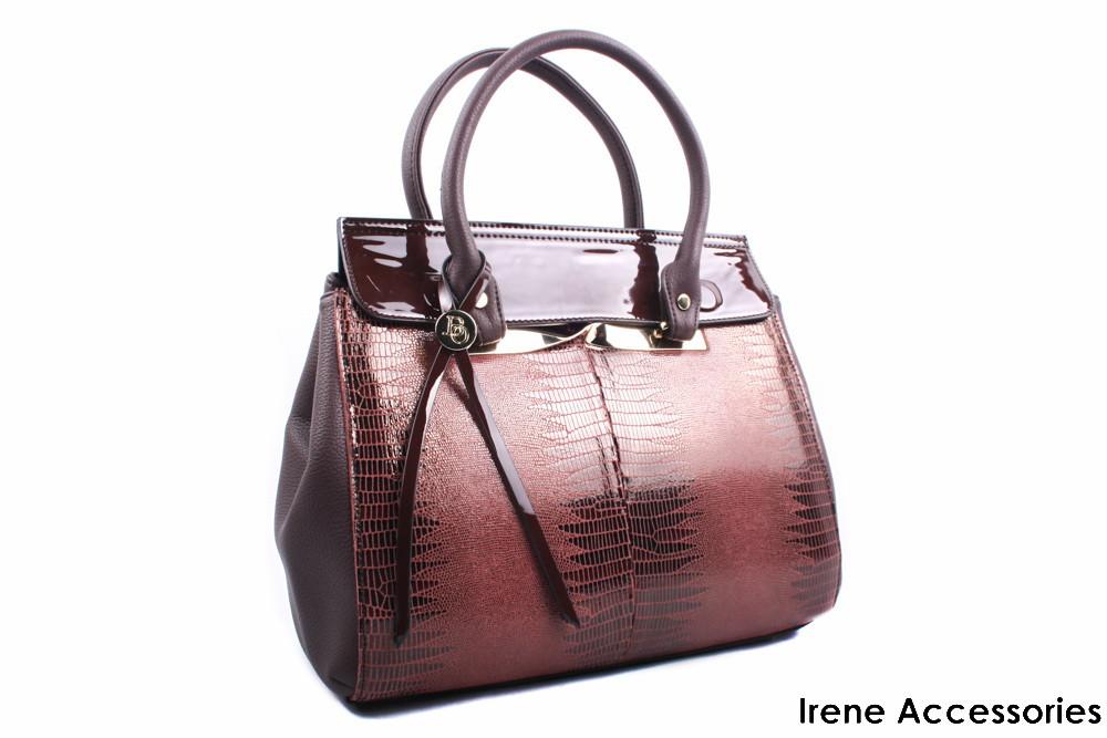Элегантная женская сумка Bonilarti Oalenzi цвет коричневый