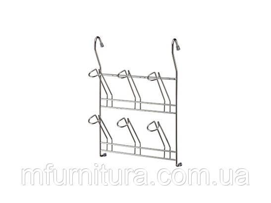 Полка для стаканов и кружек / хром / РС16