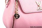 Элегантная женская сумка Louis Vuitton цвет светло-розовый, фото 6