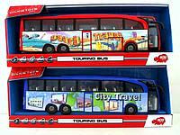 Игрушка Dickie Туристический автобус фрикционный 3745005