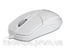 Мышь REAL-EL RM-211 проводная white USB