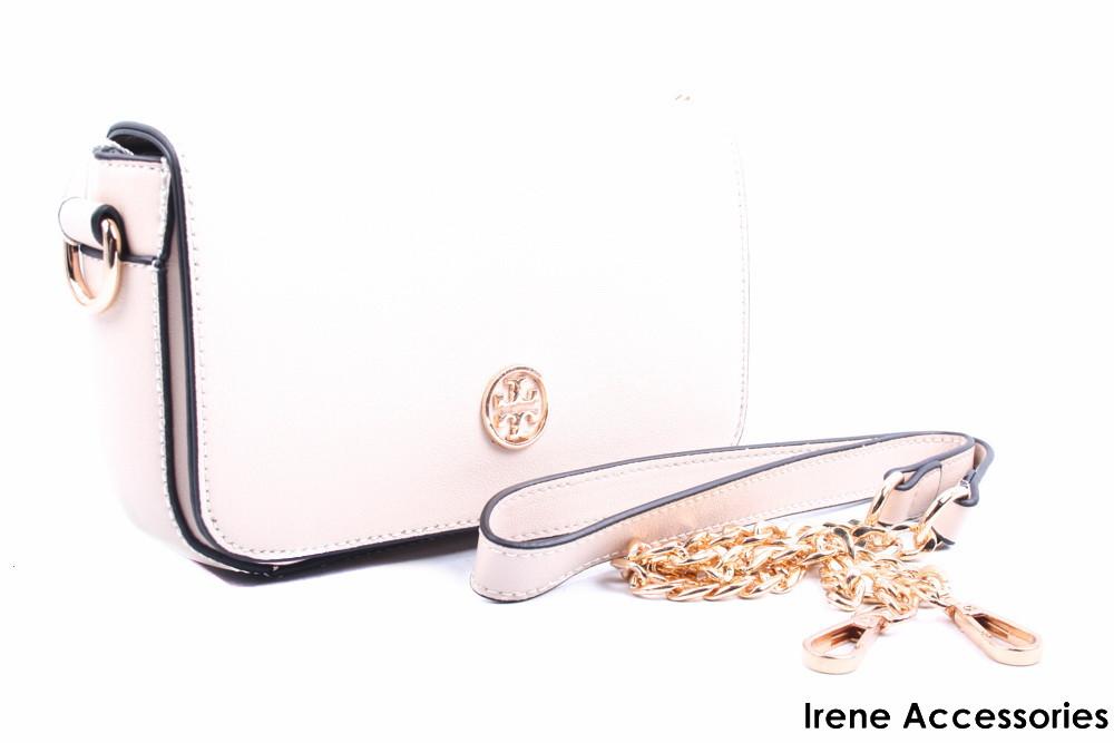 Элегантная маленькая женская сумка Tony Burch цвет молочный