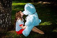 Мишка Барни 130 см.Мягкая игрушка.игрушка медведь.мягкие игрушки украина.Плюшевый мишка голубой