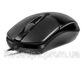Мышь REAL-EL RM-211 проводная black USB