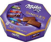 Шоколадные конфеты в коробке Milka Singles mix, 147 гр.