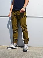 Мужские штаны карго Apache цвета хаки