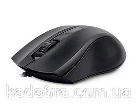 Мышь REAL-EL RM-213 проводная USB black