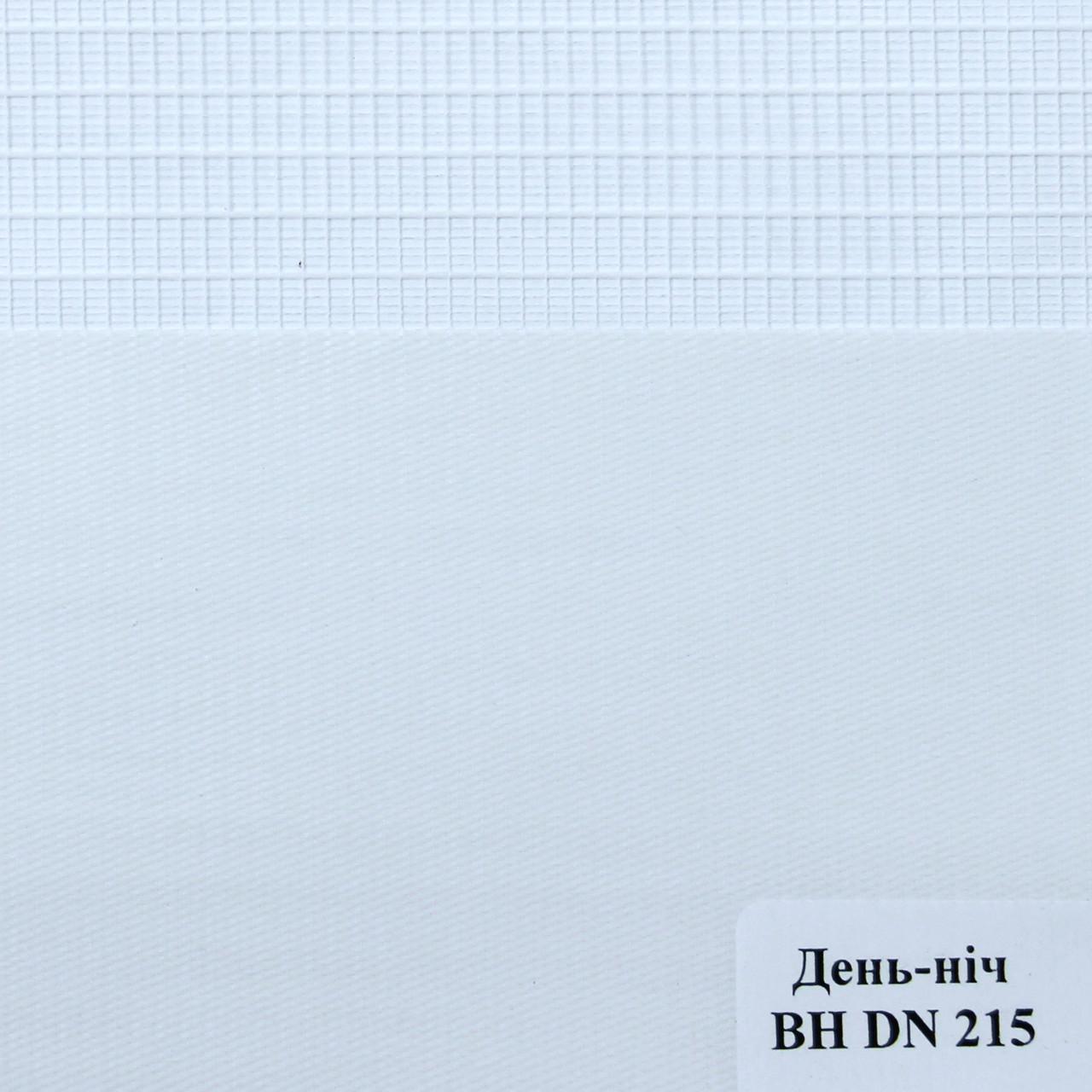 Рулонные шторы День Ночь Ткань Сахара ВН DN 215 Иней