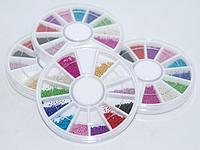Бульон цветной пластиковый в каруселе BVK-C YRE