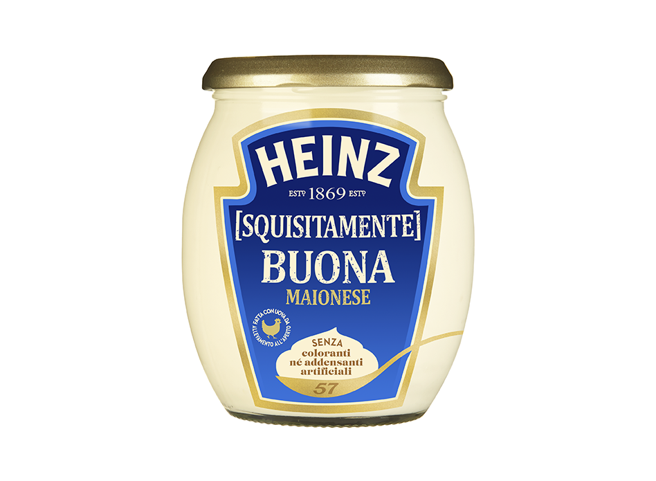 Майонез Heinz Buona Maionese жирность 68%, 235 гр.