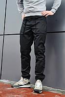 Штаны мужские карго Voron черные