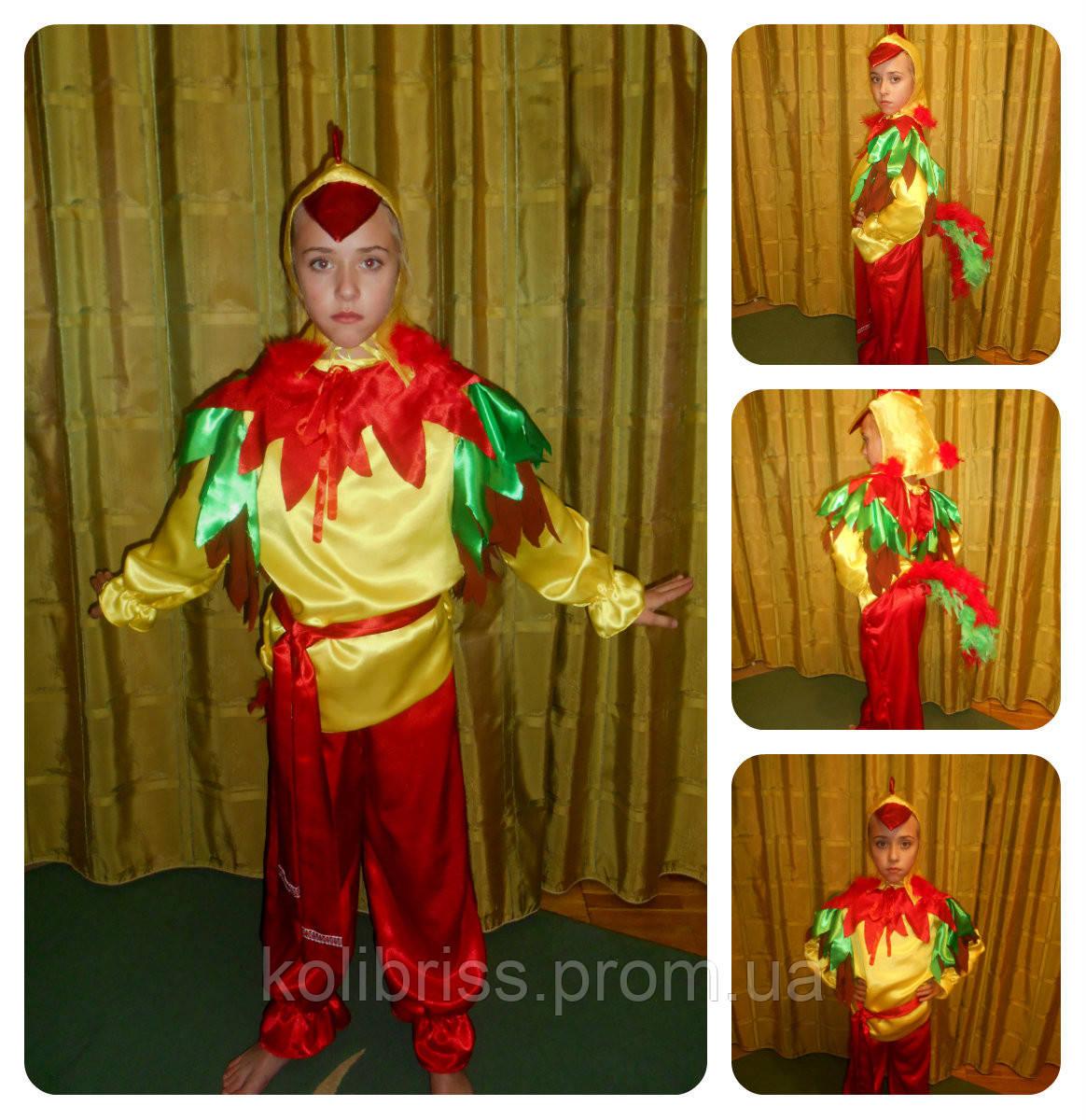 Шикарный костюм петуха, петушка р.128-140прокат Киев
