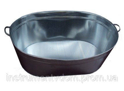 Ванна оцинкованная овальная 45 л (упаковка 10 шт)