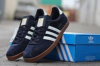 Мужские кроссовки Adidas Gazelle, темно-синие