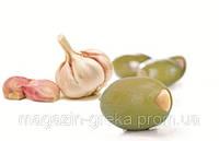 Оливки фаршированные чесноком, фото 1