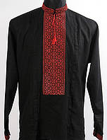 Вышиванка черная  пошив на заказ
