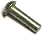 Заклепки с полукруглой головкой М4*6...50 ГОСТ 10299-80, фото 2