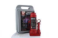 Домкрат гідравлічний 3т ДК JNS-03PVC червоний (валіза)