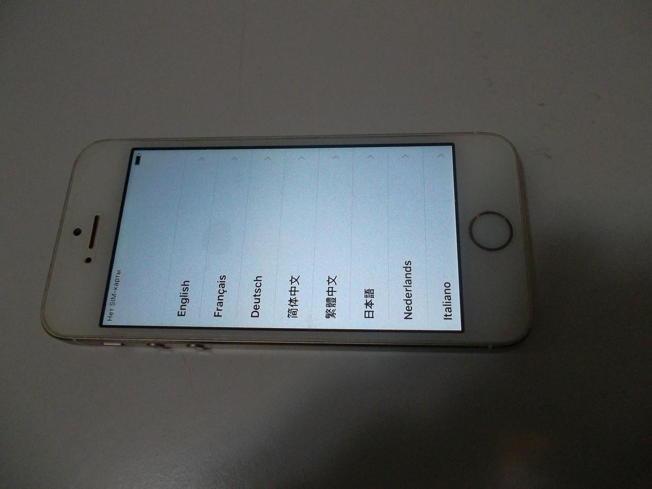 Мобильный телефон Iphone 5s gold №1724