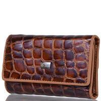 Маленький женский кошелек WANLIMA W81092670792-light-coffee коричневый